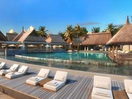 La superbe piscine de l'hôtel Preskil Island Resort