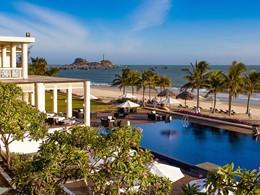 La piscine du D'An Nam Resort & Spa situé au coeur de la baie de Kê Gà