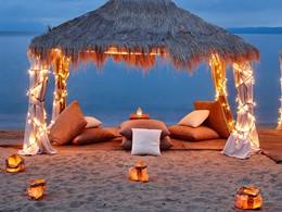 Profitez d'un moment romantique sur la plage
