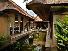 Vue du Jaya Spa de l'hôtel Puri Bagus Lovina