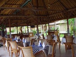 Le restaurant Saraswati du Puri Bagus Lovina