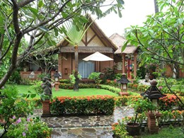 Le jardin du Puri Mas Boutique Resort & Spa