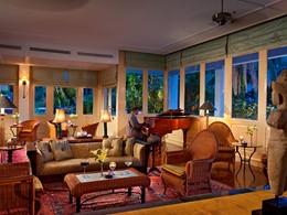 Le conservatoire de l'hôtel 5 étoiles Raffles Grand Hotel d'Angkor à Siem Reap