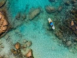 Service d'hélicoptère Raffles Praslin aux Seychelles
