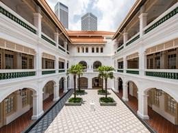 La cour de l'hôtel, une adresse de légende