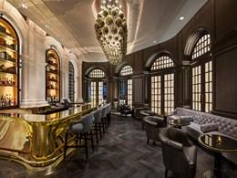 Le Writers Bar, un hommage aux illustres auteurs ayant séjourné à l'hôtel