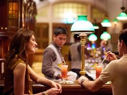 Le Long Bar du Raffles Hotel à Singapour