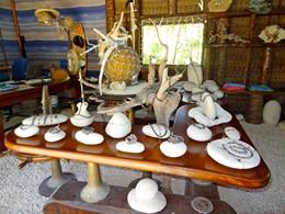 La boutique de l'hôtel Raimiti Fakarava