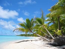 La plage de l'hôtel Raimiti Fakarava, en Polynésie