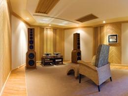 La salle de musique du Rawi Warin Resort en Thailande