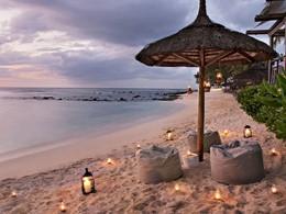 Moment romantique sur la plage