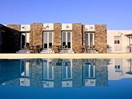 La superbe piscine du Rizes Hotel