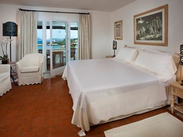 Premium Suite de l'hôtel Romazzino en Sardaigne