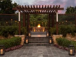 L'entrée du Chef's Garden du Rosewood Mayakoba au Mexique