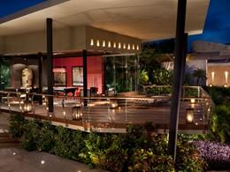 La salle de jeu de l'hôtel Rosewood Mayakoba au Mexique