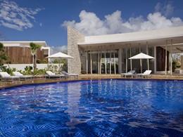 La piscine du spa du Rosewood Mayakoba au Mexique