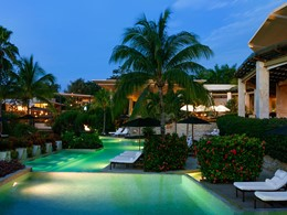 Autre piscine de l'hôtel Rosewood Mayakoba au Mexique