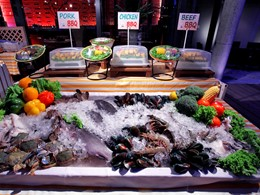 Produits frais du Zea Restaurant du Sai Kaew Beach Resort