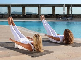 Yoga au Saint Andrea Seaside Resort