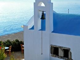 Eglise du St. Nicolas Bay Resort en Grèce
