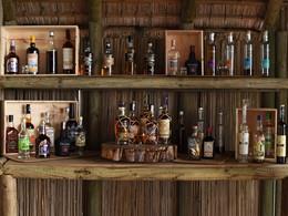 Une large selection de rhum vous attend au Sakoa