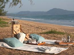 Pique-niquez sur la plage