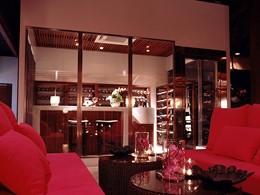 La cave à vin de l'hôtel Sala Samui en Thailande