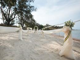 Mariage au Sala Samui Resort & Spa en Thailande