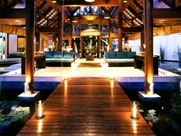Le lobby de l'hôtel Sala Samui Resort en Thailande