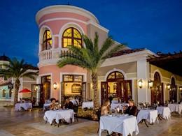 Le restaurant Mario's du Sandals Grande Antigua aux Antilles