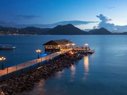 Le restaurant Gordon's du Sandals Grande St. Lucian