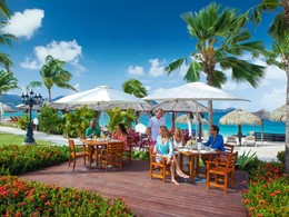 The Mariner Seaside Bar & Grill du Sandals Grande St. Lucian