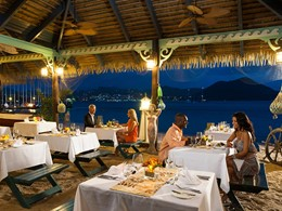 Le restaurant Barefoot by the Sea du Sandals Grande St. Lucian