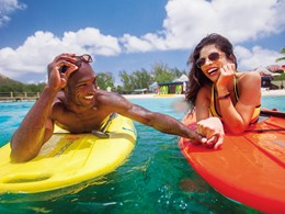 Profitez des eaux cristallines du Sandals Grande St. Lucian