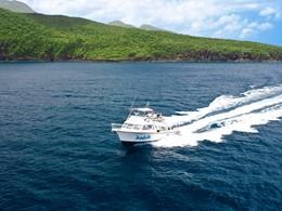 Balade en mer à l'hôtel Sandals Grande St. Lucian