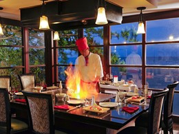 Le restaurant traditionnel japonais Kimonos du Sandals Regency La Toc