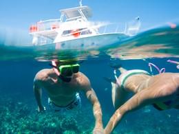 Snorkeling au Sandals Regency La Toc à Sainte Lucie