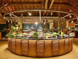 Le restaurant Tamarind Terrace