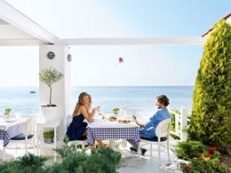 Le restaurant Ouzerie de l'hôtel Sani Club en Grèce