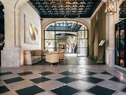 Le lobby de l'hôtel 5 étoiles Sant Francesc aux Baléares