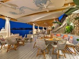 Le Buddha-Bar Beach est légendaire pour son atmosphère exotique