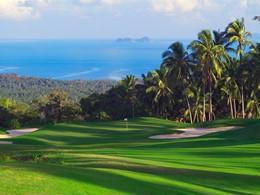 Le parcours de golf