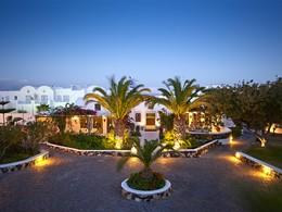 Vue de l'hôtel Santorini Kastelli Resort en Grèce