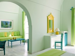 Exécutive Suite du Santorini Kastelli Resort à Santorin