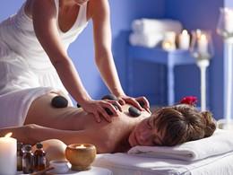 Le spa de l'hôtel 5 étoiles Santorini Kastelli Resort