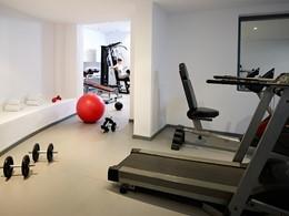 Gym du Santorini Kastelli situé sur la côte est de Santorin