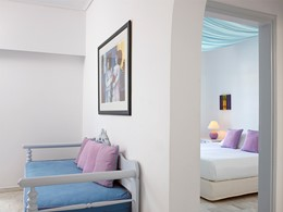 Suite du Santorini Kastelli Resort à Santorin
