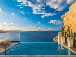 La piscine de l'Infinity Suite