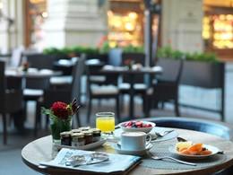 Petit-déjeuner à l'hôtel