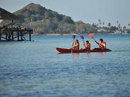 Activités nautiques proposées sur l'île